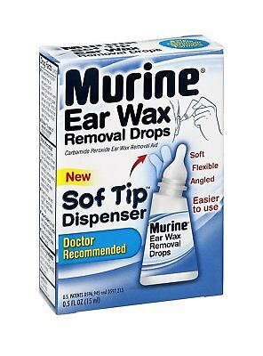 Murine Ear Wax Removal Drops Fast-Acting Maximum Strength 0.5 oz (Pack of 24)
