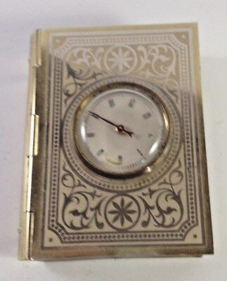 vintage Book shaped weather thermometer decorative, France