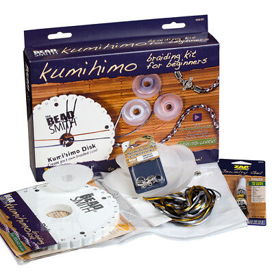 Beadsmith Kumihimo Braiding Jewellery Kit For Beginners (H99)