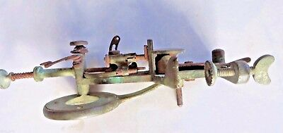 Antique MOLDACOT lock stitch Pocket Portable Sewing Machine Nonworking Marked