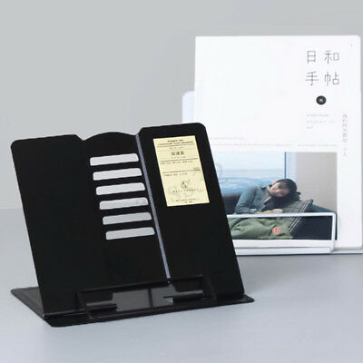 Portable Steel Book Stand Bookstand Simple Design Adjustable Tilt Reading Holder