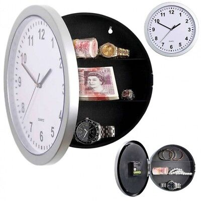 Pms 23.5Cm Safe Wall Clock In Pvc Coated Box