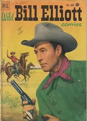 Wild Bill Elliott Number 7 ,10 Cent Dell  Comic. 1951. Western