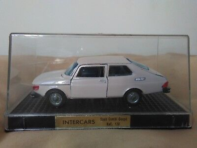 Miniatura 1:43 Nacoral Intercars Chiqui Cars Metal 123 Saab 99 Combi Coupé Spain