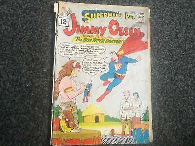 Jimmy Olsen Supermans Pal 58 Dc Comics 1962 Silver Age