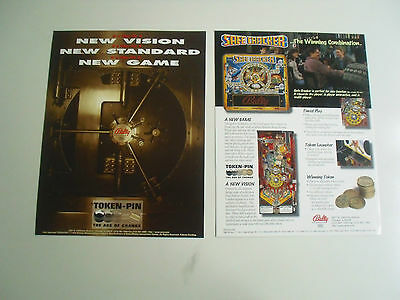 Neuer Flyer für Safe Cracker Bally / Williams Flipper Pinball