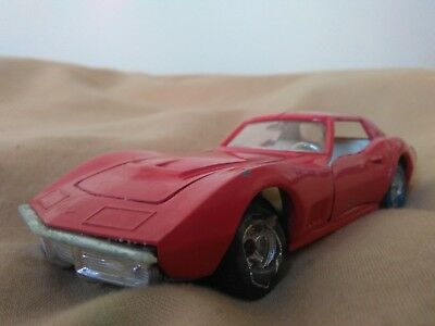 Miniatura 1:43 Nacoral Intercars Chiqui Cars Metal 101 Chevrolet Corvette.Spain.