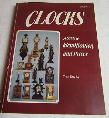 Clocks A Guide to Identification and Prices by Tran Duy Ly 1984 Softcover Book