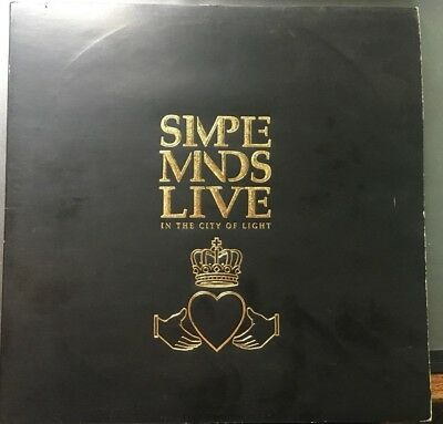 Simple Minds - Live In The City Of Light - Doppel-Vinyl-LP