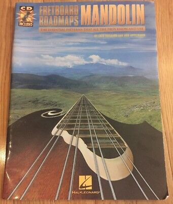 Fretboard Roadmaps Madolin By Fred Sokolow And Bob Applebaum, With CD