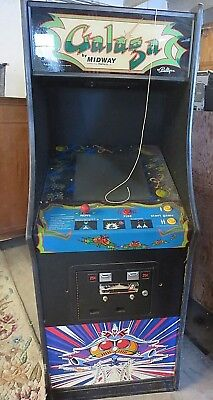 GALAGA  By Midway Video Arcade Game - Parts Only