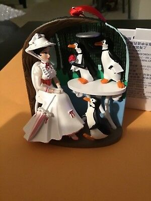 Mary Poppins Jolly Holiday Sketchbook Ornament 2018 Disney Store NWT