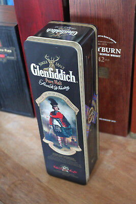 Glenfiddich Clan Montgomerie Metalldose mit Brief History