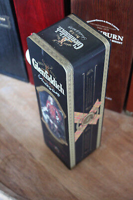 Glenfiddich Clan Sutherland Metalldose mit Brief History