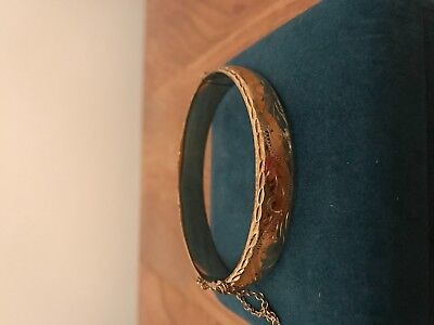 9ct Rolled Gold Bracelet with safety Chain