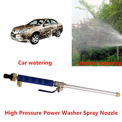Strong Pressure Power Washer Spray Nozzle Water Hose Wand Attachment For Car Kit