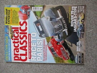 Practical Classics Magazine June 2018 - Rover 75 Vs Jaguar, Bmw