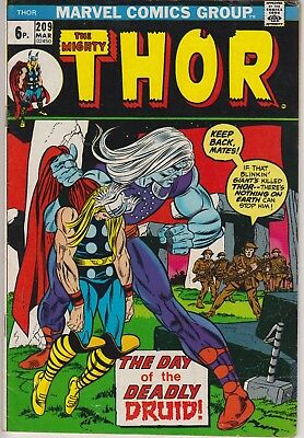 "Thor 209 - ""The Day of the Deadly Druid!"". Bronze age pence issue"