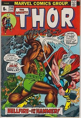 "Thor 210 - ""Hellfire..... and the Hammer!"" . Bronze age pence issue"