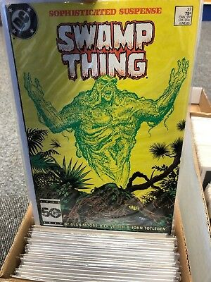 swamp thing saga comic collection, including issue 37 JOHN CONSTANTINE, Job Lot