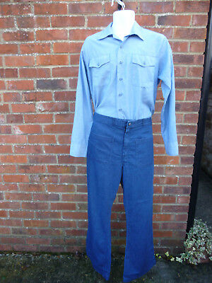 Ww2 Style Us Navy Uniform Shirt Jeans And Hat