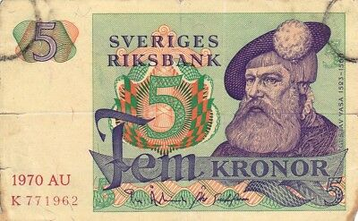 Currency Selection, Sweden 5 Kronon