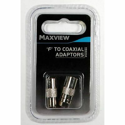 Maxview F And Coaxial Adaptors (MD865)