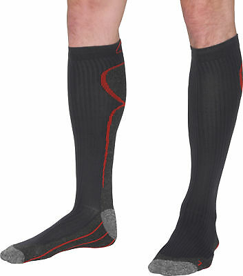 More Mile R2R Compression Socks Grey Mens Womens Cushioned Running Recovery 2-13