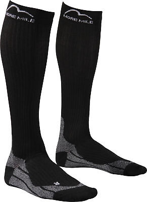 More Mile R2R Cushioned Compression Recovery Sports Performance Running Socks