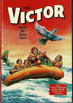 The Victor Book for Boys 1975 - Excellent Condition