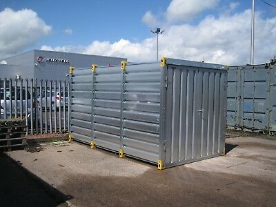 4m Easy Build Demountable 4 metre Steel Container £1080 + vat
