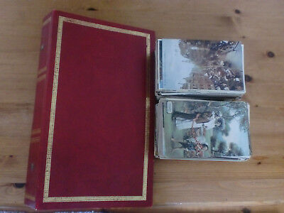 POSTCARD ALBUM WITH 282 VINTAGE POSTCARDS dating from around 1905-65 Many RP