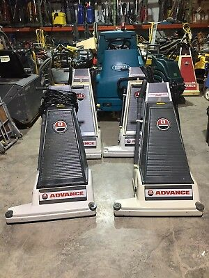 """Advance 28Xp Wide Area Upright Commercial Vacuum Cleaner """"Very Clean"""" """"Tested"""""""