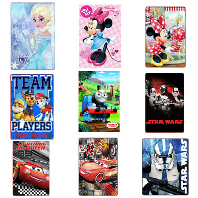 Kuscheldecke Fleece Decke Star Wars Thomas Frozen Cars Paw Patrol Minnie Maus