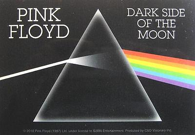 "PINK FLOYD AUFKLEBER / STICKER # 33 ""DARK SIDE OF THE MOON"" - PVC - 13x9cm"
