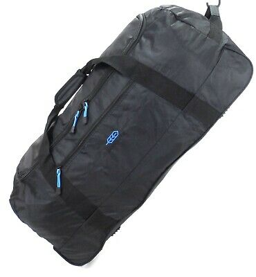 "X Large 32"" Folding Wheeled Bag Holdall Luggage Travel Sports Weekend Carry Case"