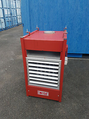 Industrial gas warm air heater for workshops factories garages showrooms shops