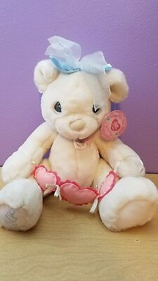 Precious Moments Hugs for the Soul Bear Plush You Have Touched So Many Hearts