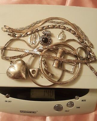 MIXED Sterling Silver Lot 140g