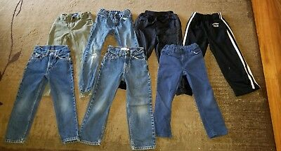 Lot Of Boys Sz 6 Jeans Pants *Name Brand* 7 Pairs!