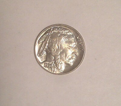 1936 Buffalo Nickel  AU-BU Brilliant detail