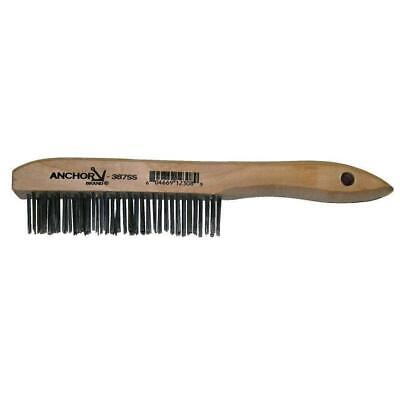 387SS Shoe Handle Stainless Wire Brush, Scratch Brush