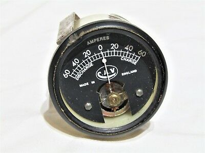 Vintage Cav 60 Amp Ammeter Gauge  Fits Gt40 Land Rover Works Rally