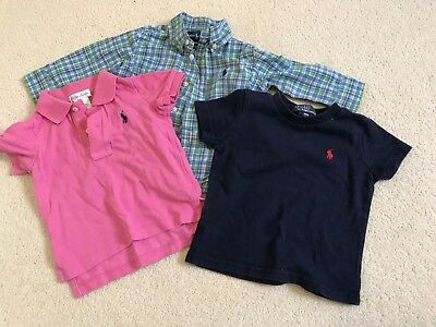 Boy 9m Tops Ralph Lauren