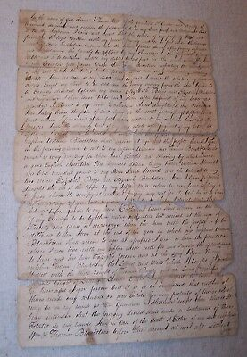 1807 Last Will & Testament - Thomas Wise Accomack County, Virginia - Slaves Free