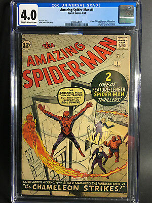 Amazing Spider-Man #1 CGC 4.0