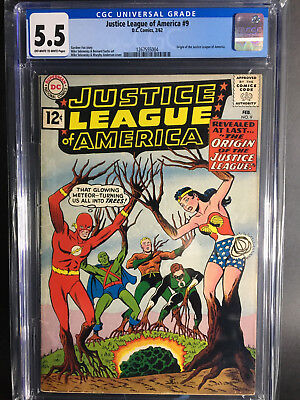 Justice League of America #9 CGC 5.5