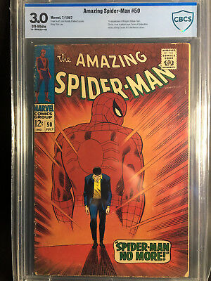 Amazing Spider-Man #50 CBCS 3.0 (1st app Kingpin)