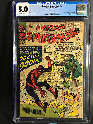 Amazing Spider-Man #5 CGC 5.0