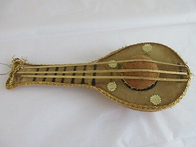 antique,vintage,MANDOLIN,pin cushion,WONDERFUL UNIQUE PIN CUSHION,you'll love it